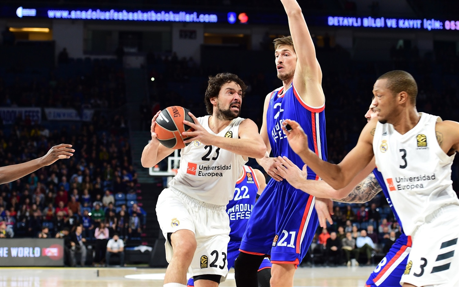 Sergio Llull - Real Madrid - EB 18