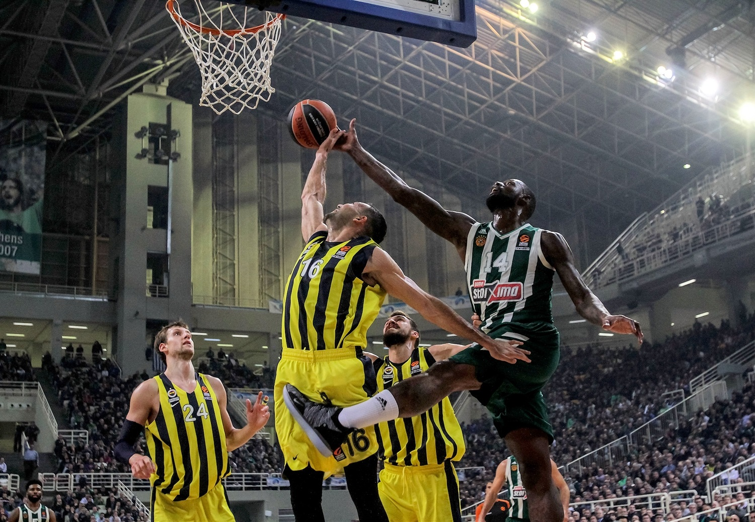 James Gist - Panathinaikos OPAP Athens - EB18