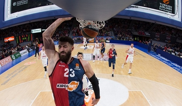 Baskonia's Shengelia won't return during regular season