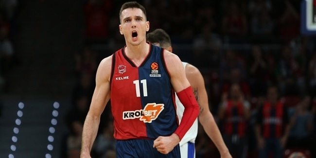 Matt Janning, Baskonia: 'It's about taking care of business at home'