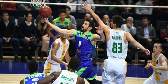 7DAYS EuroCup, Regular Season Round 9: Tofas Bursa vs. Limoges CSP