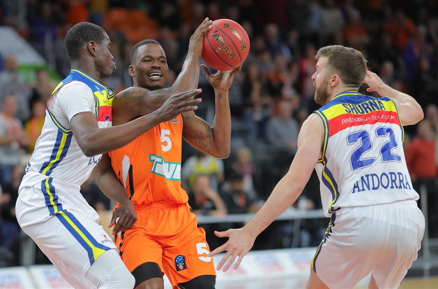 Javonte Green - ratiopharm Ulm (photo Ulm - Florian Achberger) - EC18