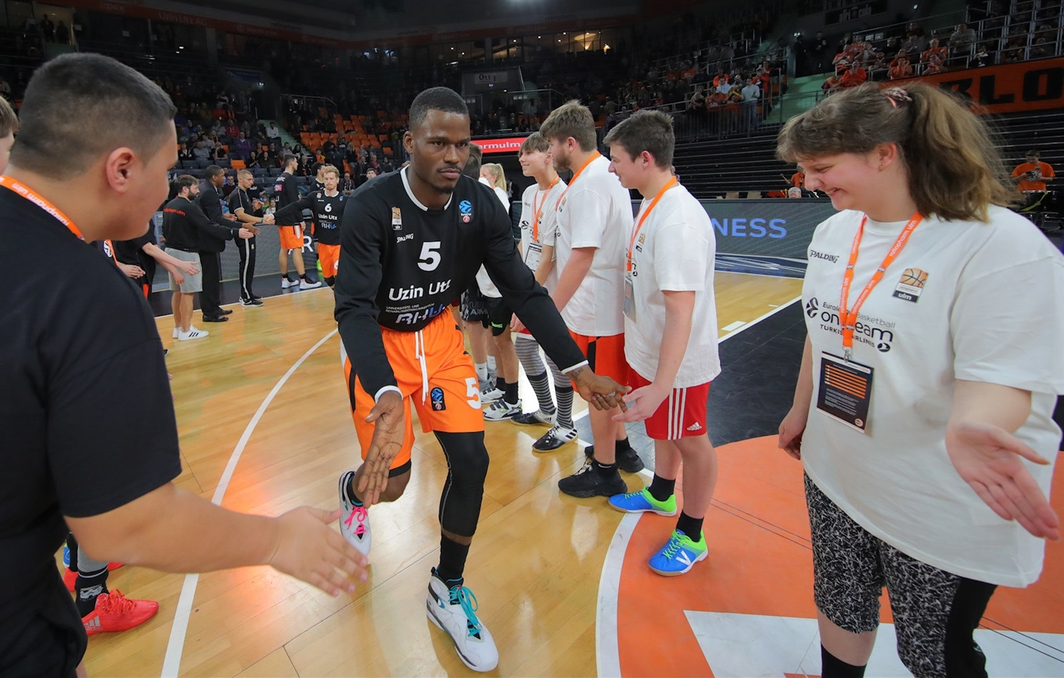 Javonte Green, One team games - ratiopharm Ulm (photo Ulm - Florian Achberger) - EC18