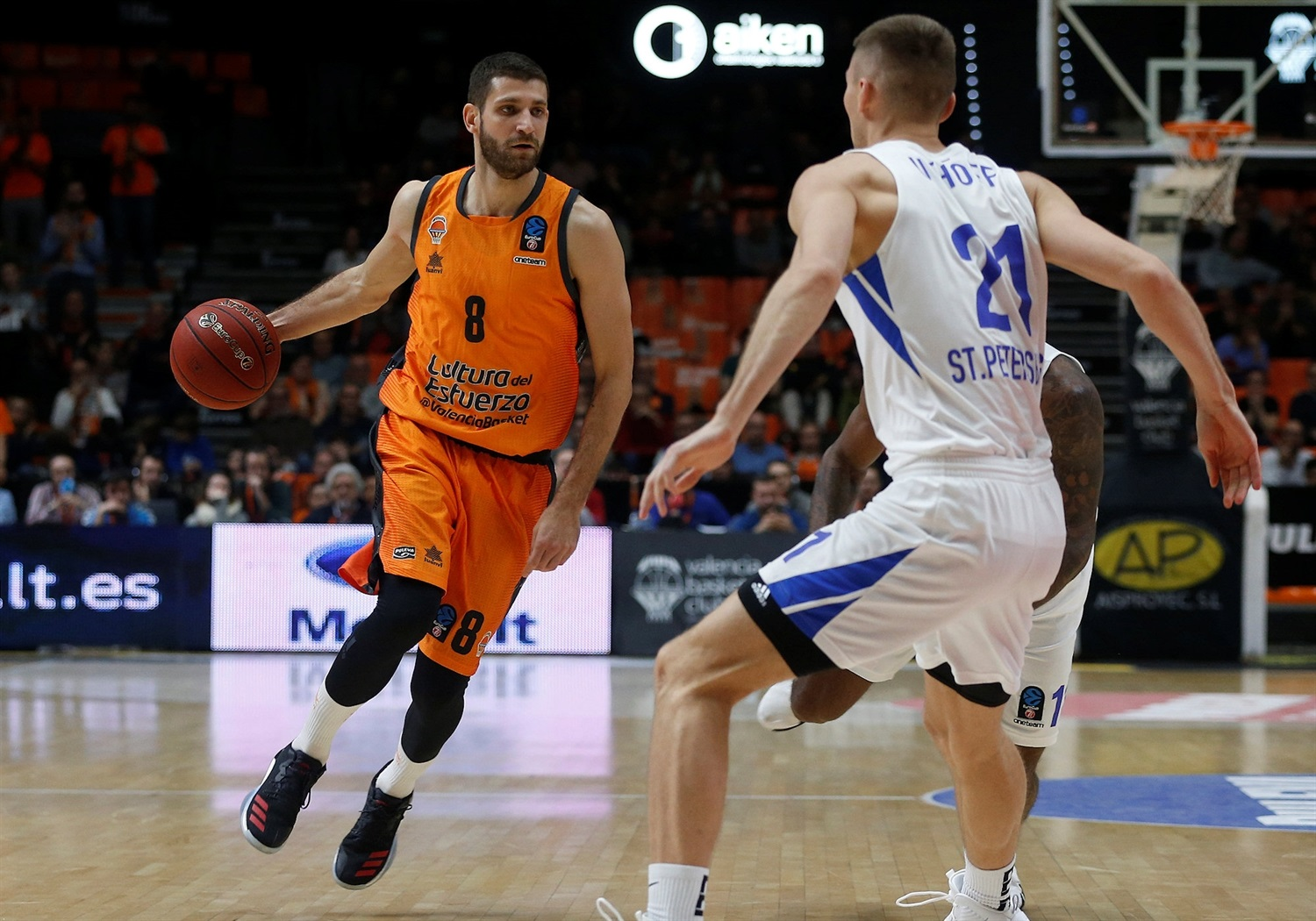 Antoine Diot - Valencia Basket (photo Valencia) - EC18