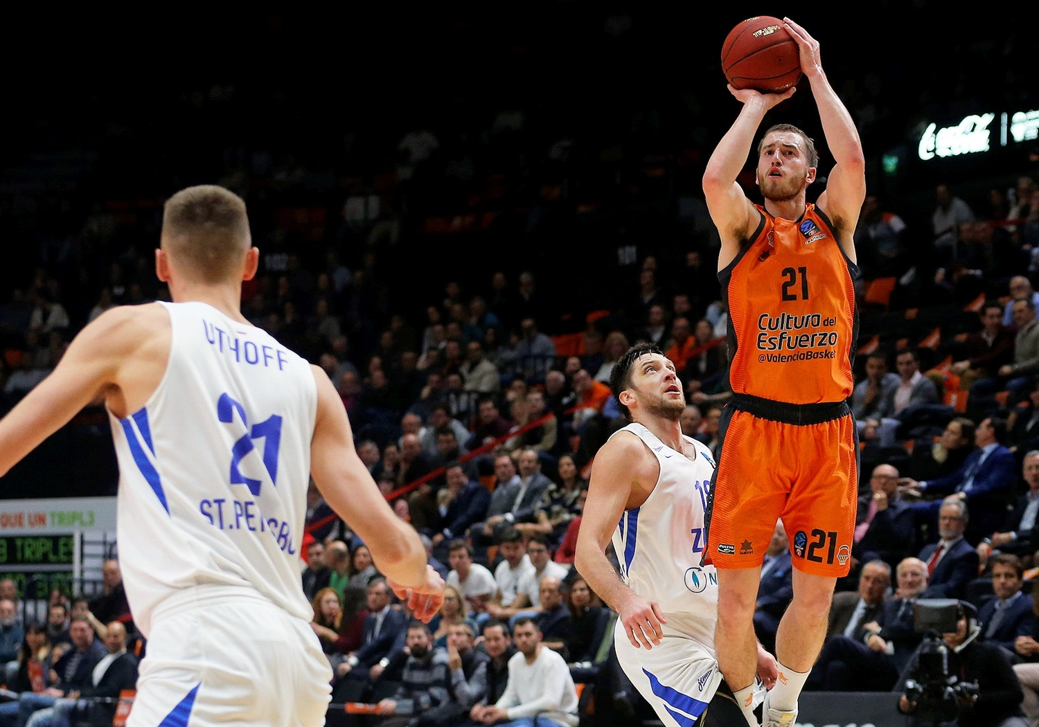 Matt Thomas - Valencia Basket (photo Valencia) - EC18