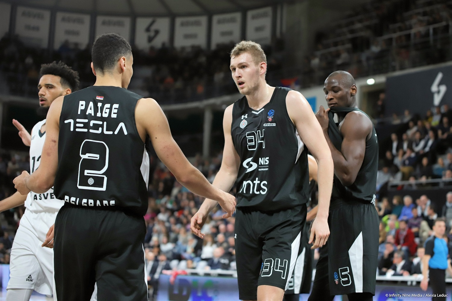 Jock Landale - Partizan NIS Belgrade (photo Infinity Nine Media - Alexia Leduc) - EC18