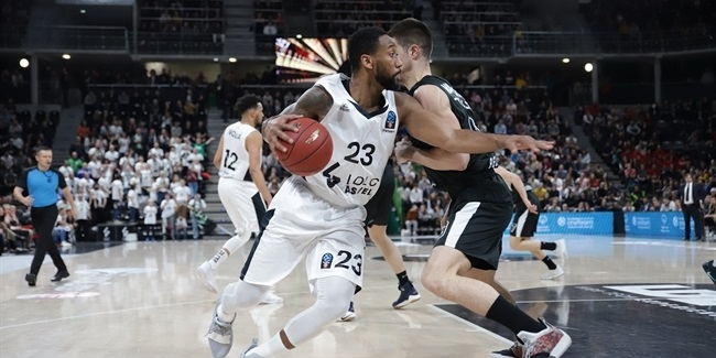 7DAYS EuroCup, Regular Season Round 9: LDLC ASVEL Villeurbanne vs. Partizan NIS Belgrade