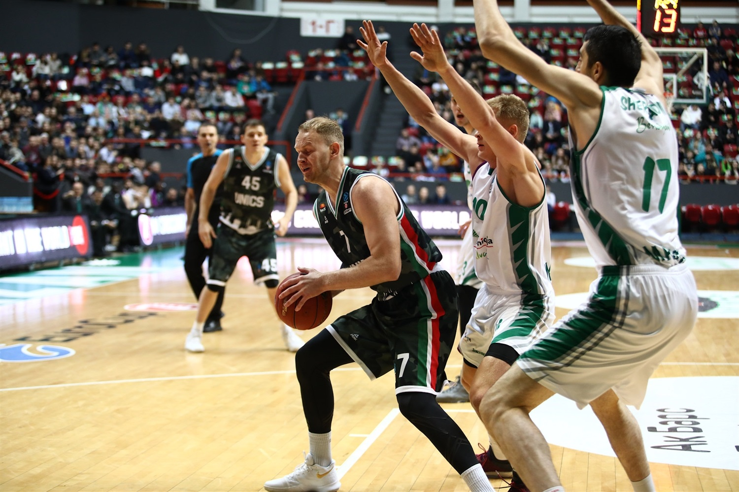 Anton Ponkrashov - UNICS Kazan (photo UNICS) - EC18