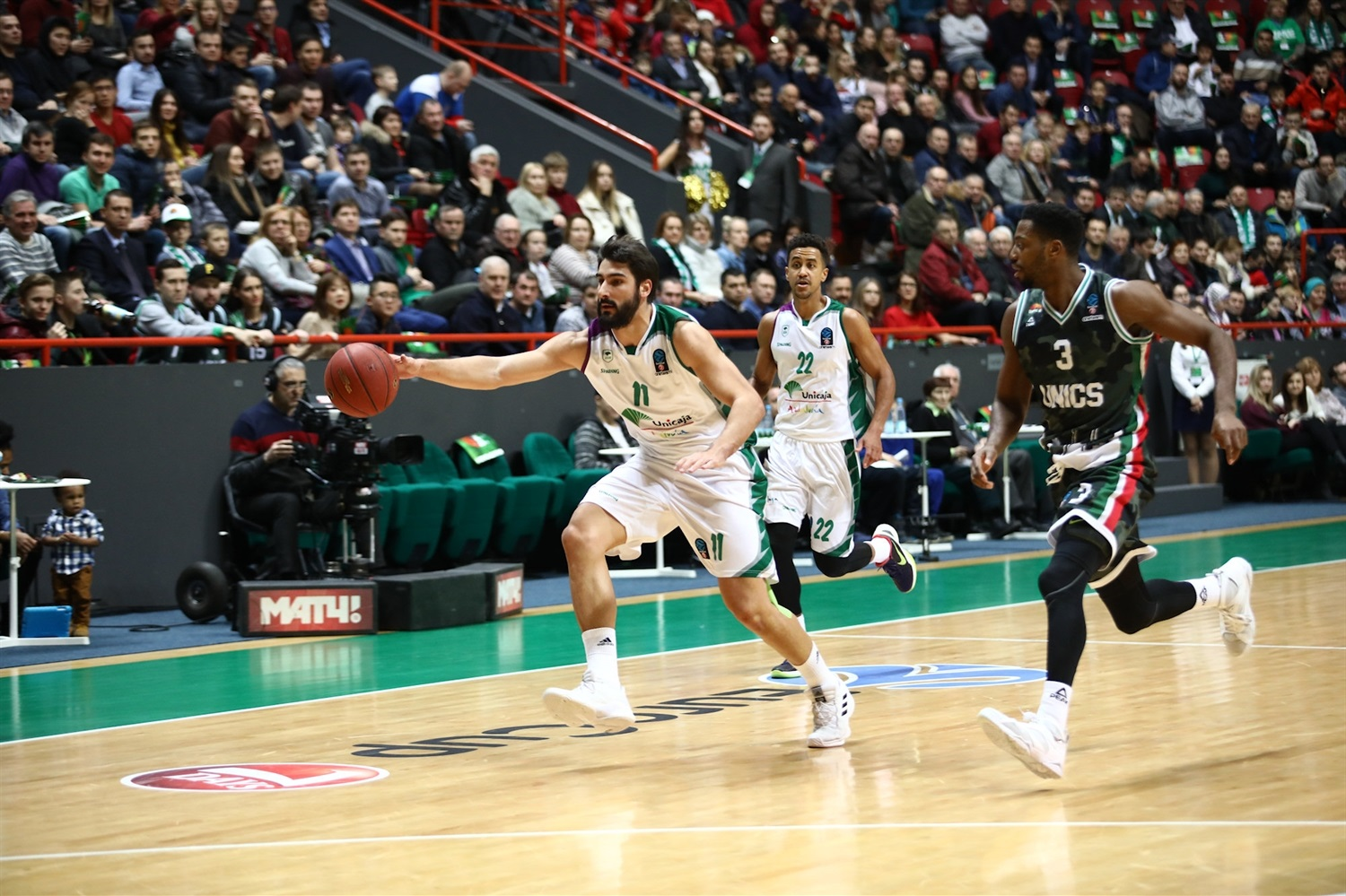 Daniel Diez - Unicaja Malaga (photo UNICS) - EC18