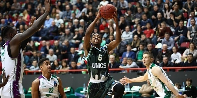 7DAYS EuroCup, Regular Season Round 9: UNICS Kazan vs. Unicaja Malaga
