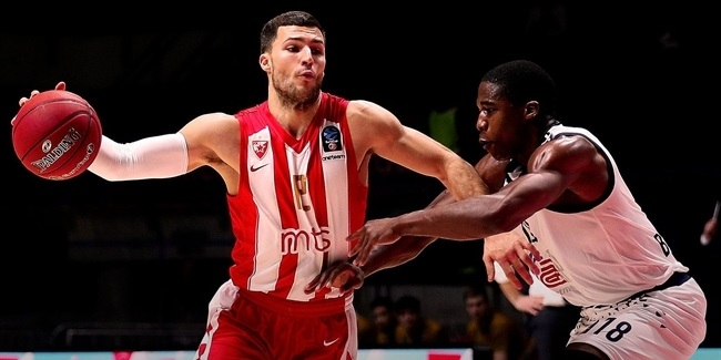 Billy Baron, Crvena Zvezda: 'To a safe and healthy 2019'