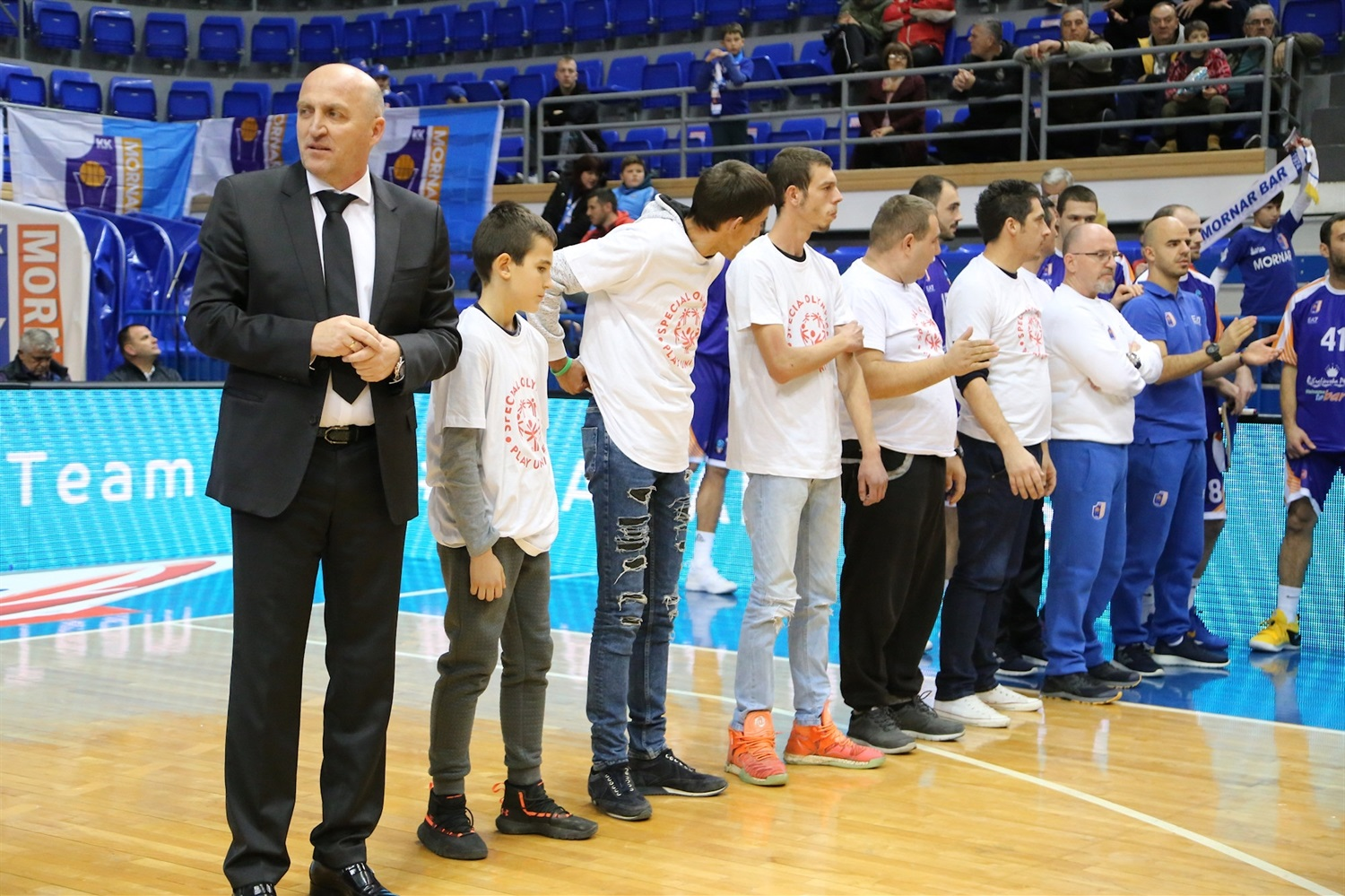 One Team Games - Mornar Bar vs. Skyliners (photo Mornar) - EC18