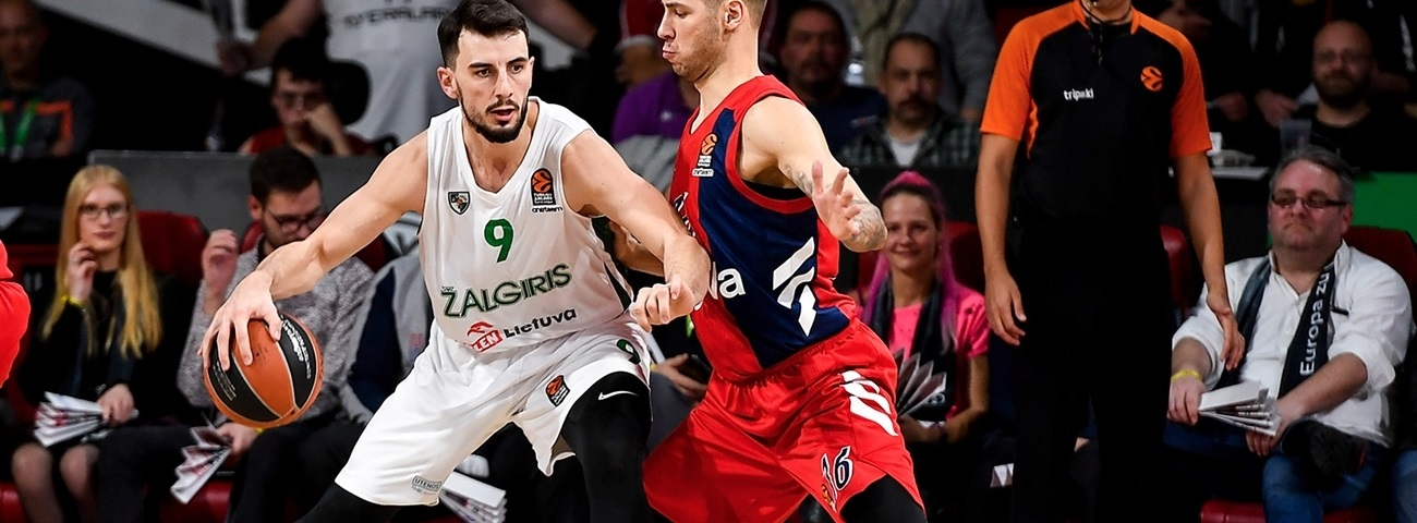 Zalgiris loses Westermann for a month or more