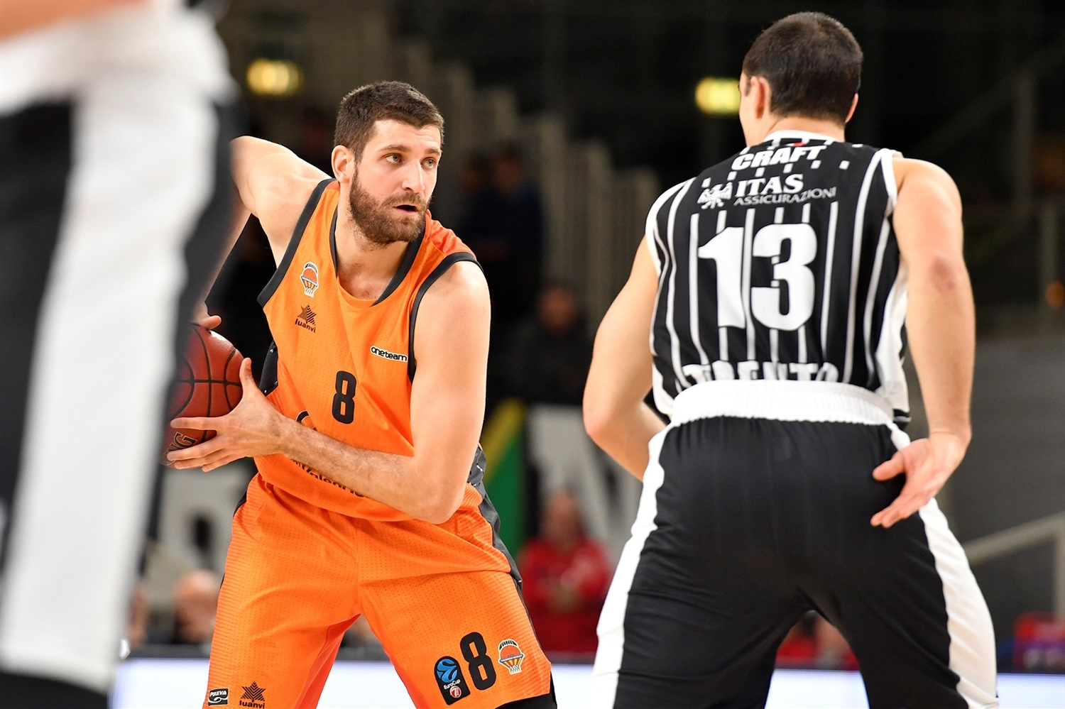 Antoine Diot - Valencia Basket (photo Trento) - EC18