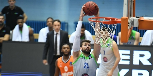 7DAYS EuroCup, Regular Season Round 10: Cedevita Zagreb vs. Tofas Bursa