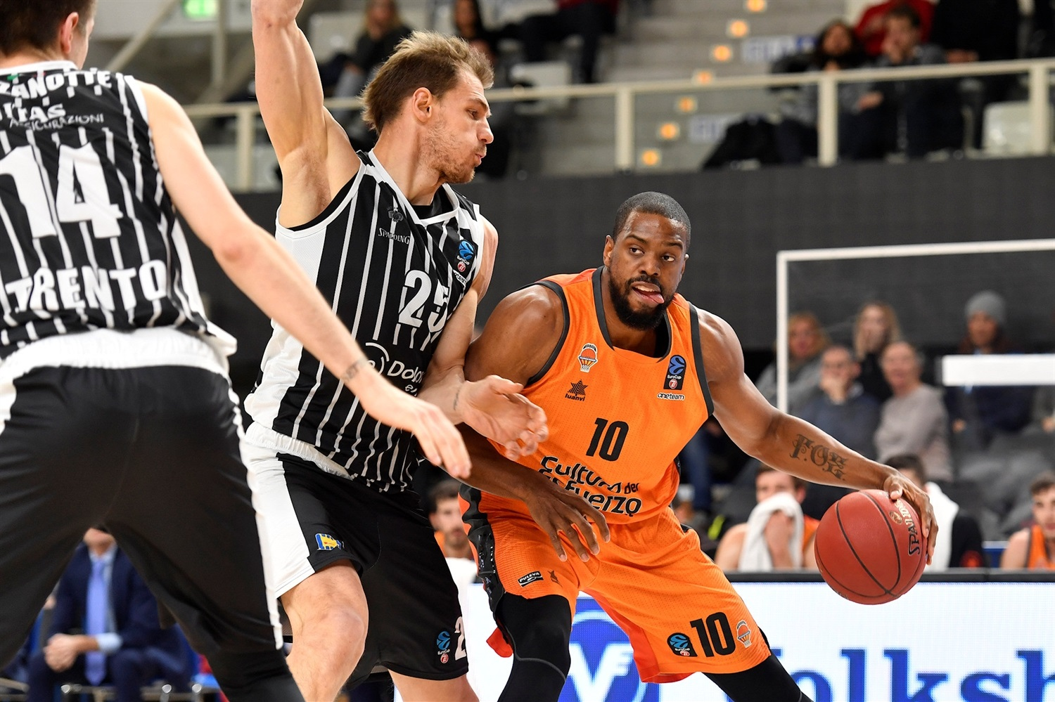 Will Thomas - Valencia Basket (photo Trento) - EC18