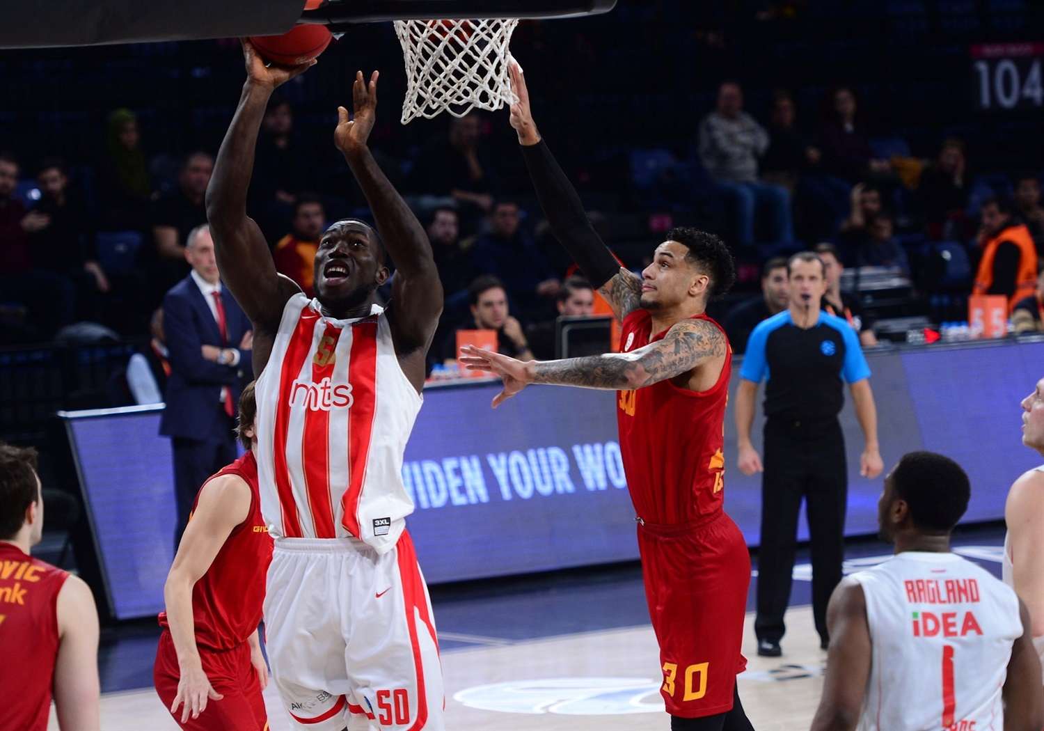 Michael Ojo - Crvena Zvezda mts Belgrade (photo Galatasaray) - EC18
