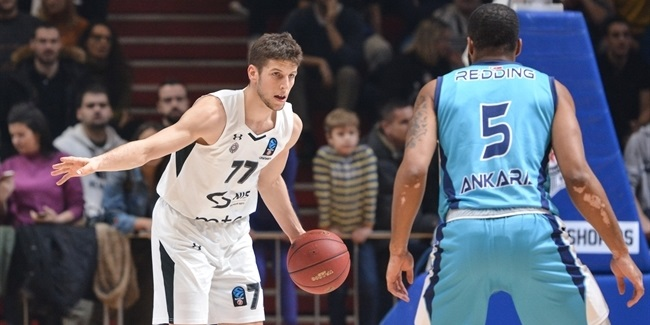 Youth energy, veteran muscle lifted Partizan into Top 16