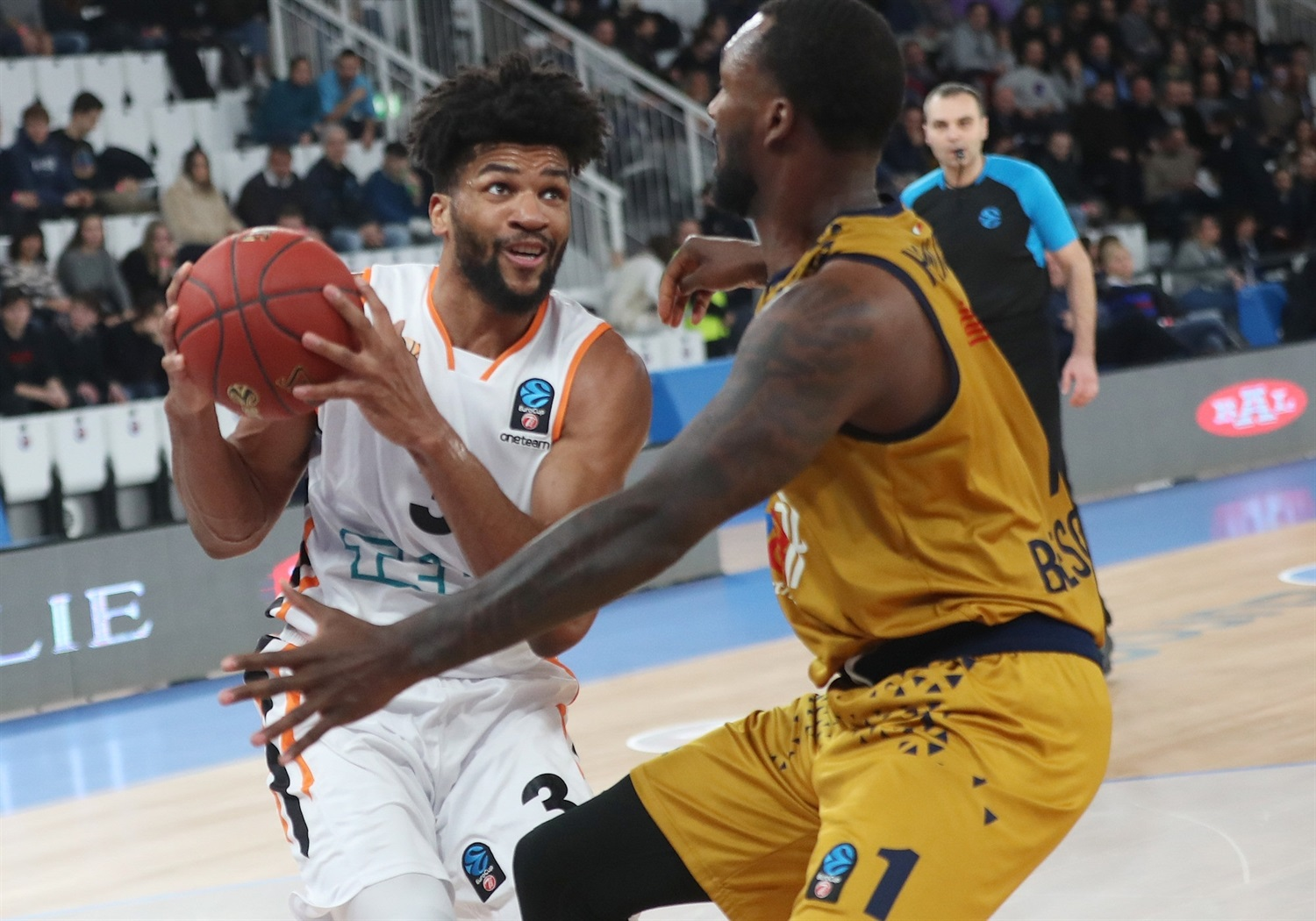 Dwayne Evans - ratiopharm Ulm (photo Brescia) - EC18