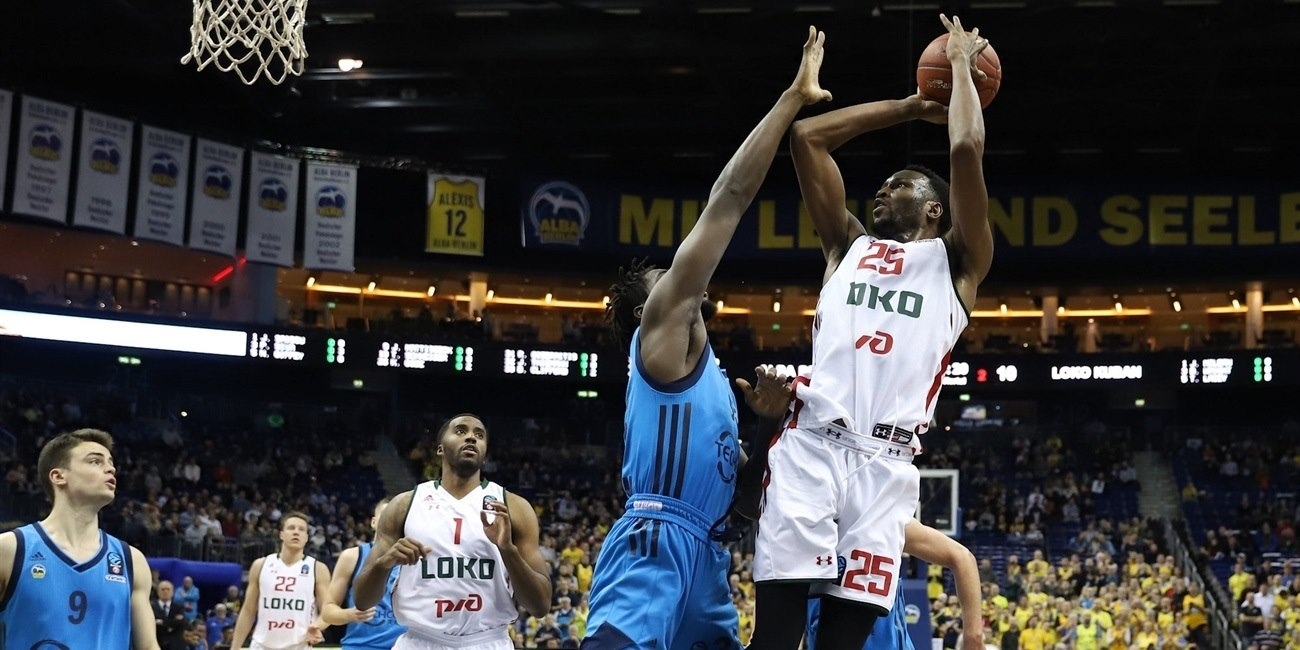 JaJuan Johnson - Lokomotiv Kuban Krasnodar (photo Andreas Knopf - ALBA) - EC18