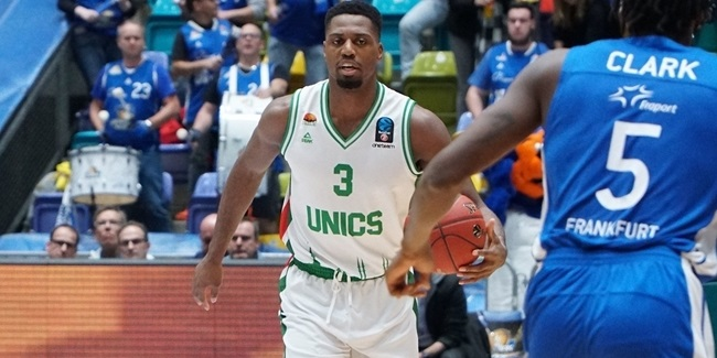 Melvin Ejim, UNICS: 'We want more'