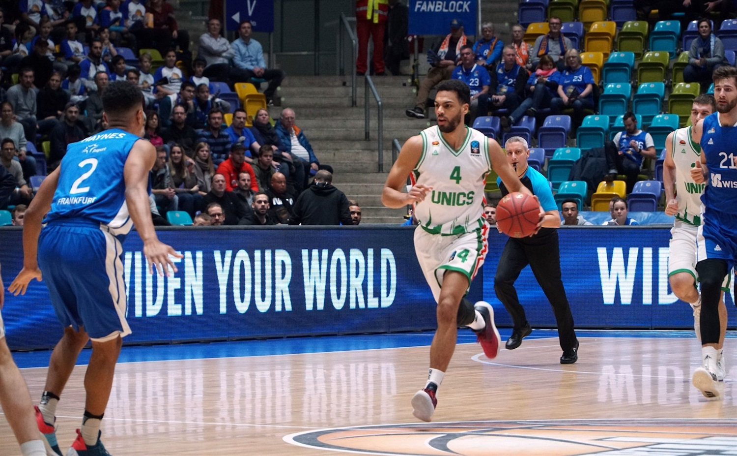 Trent Lockett - UNICS Kazan (photo Skyliners) - EC18