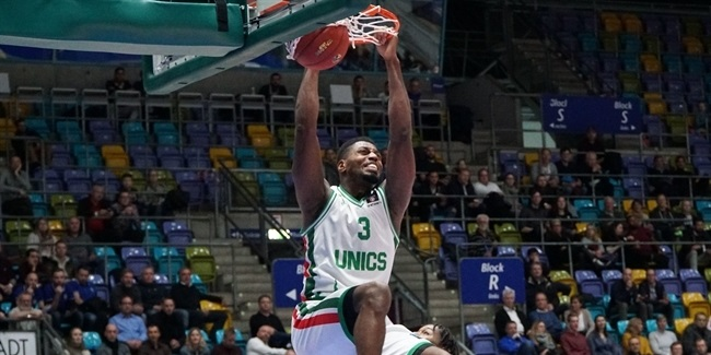 7DAYS EuroCup, Regular Season Round 10: Fraport Skyliners Frankfurt vs. UNICS Kazan