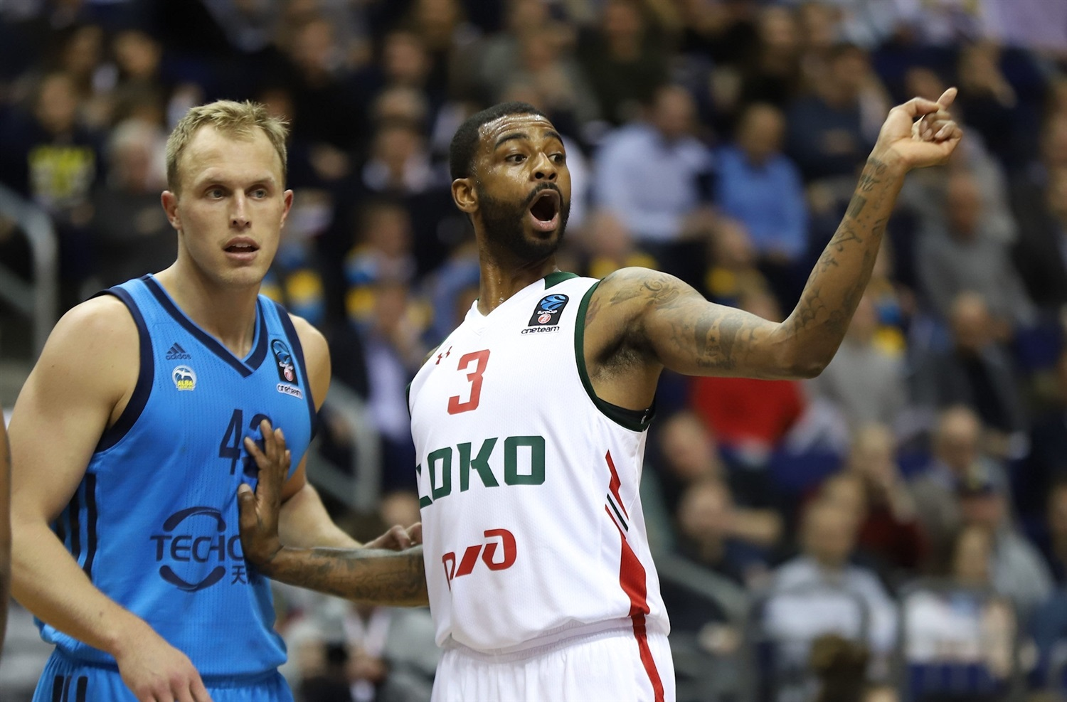 Dorell Wright - Lokomotiv Kuban Krasnodar (photo Andreas Knopf - ALBA) - EC18