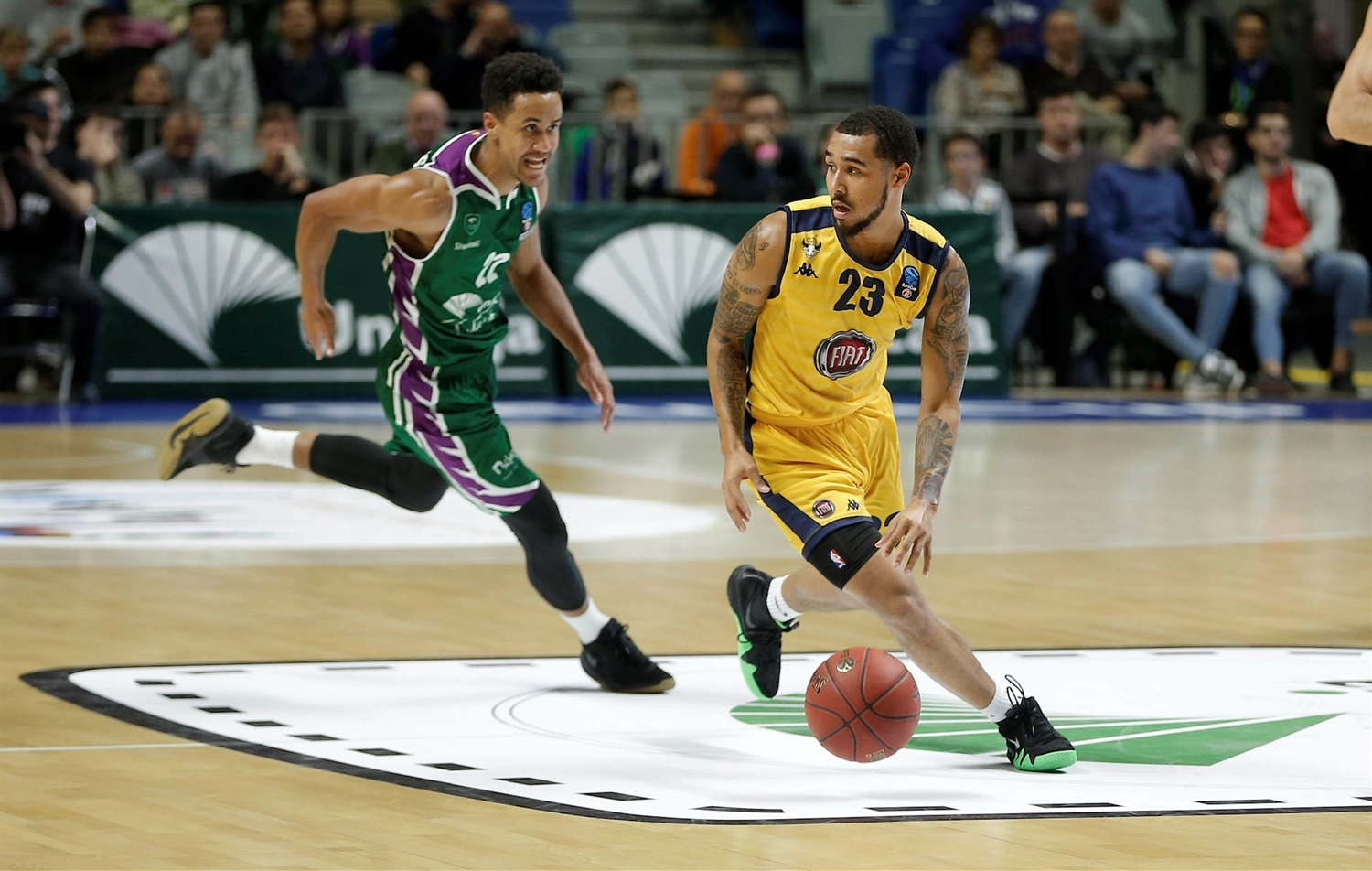 Dallas Moore - Fiat Turin (photo Unicaja) - EC18