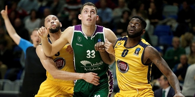 7DAYS EuroCup, Regular Season Round 10: Unicaja Malaga vs. Fiat Turin