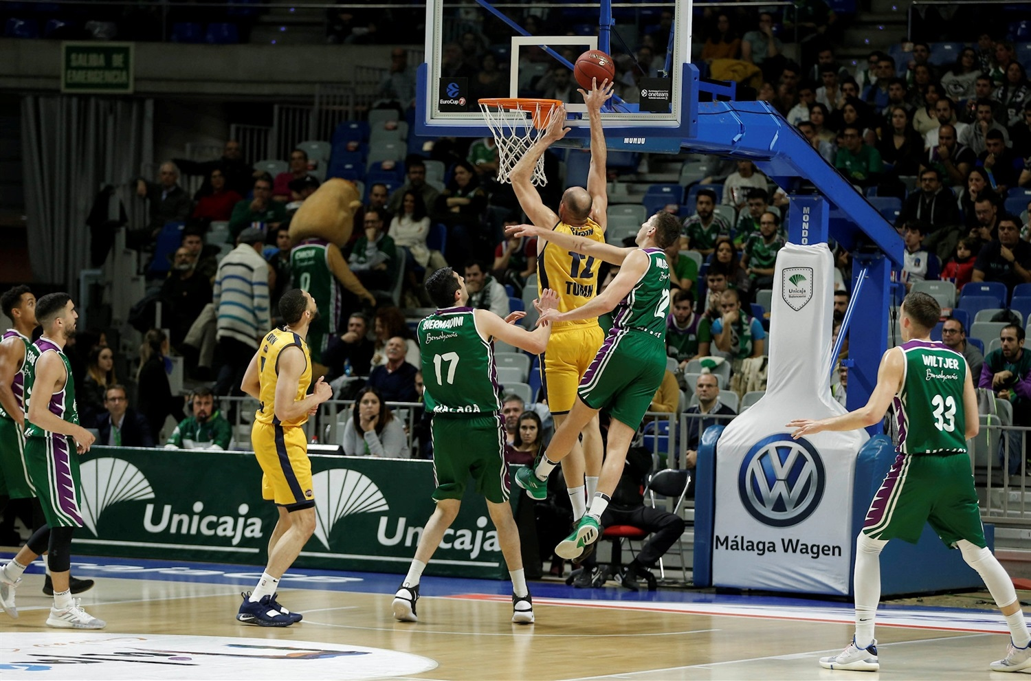 Marco Cusin - Fiat Turin (photo Unicaja) - EC18
