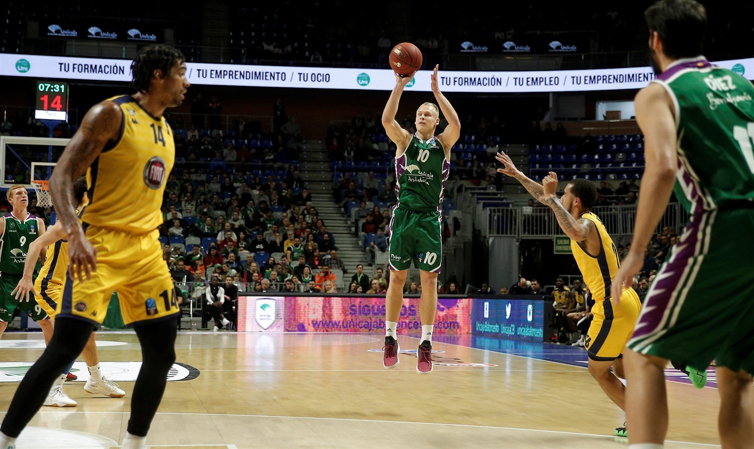 Sasu Salin - Unicaja Malaga (photo Unicaja) - EC18