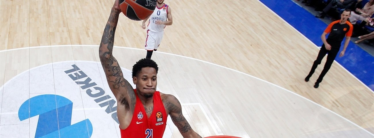 Will Clyburn, CSKA: 'Playing in a league this good is a blessing'