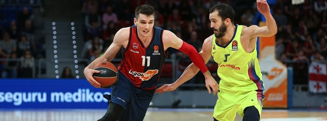 Matt Janning, Baskonia: 'Game 1 is always very important'