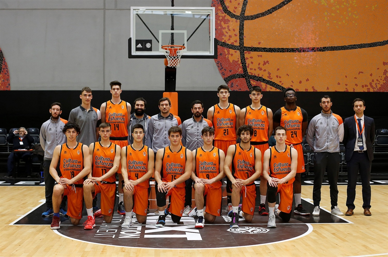 U18 Valencia Basket (photo Miguel Angel Polo - Valencia) - JT18