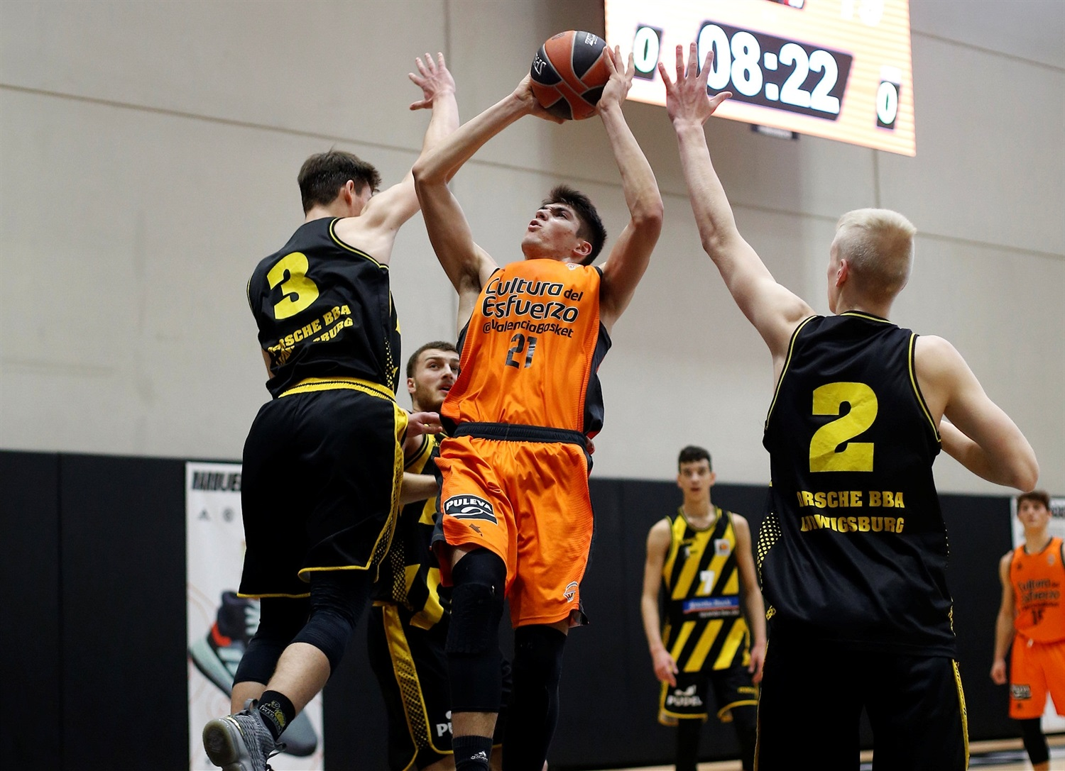 Alfonso Jose Ribera - U18 Valencia Basket (photo Miguel Angel Polo - Valencia) - JT18