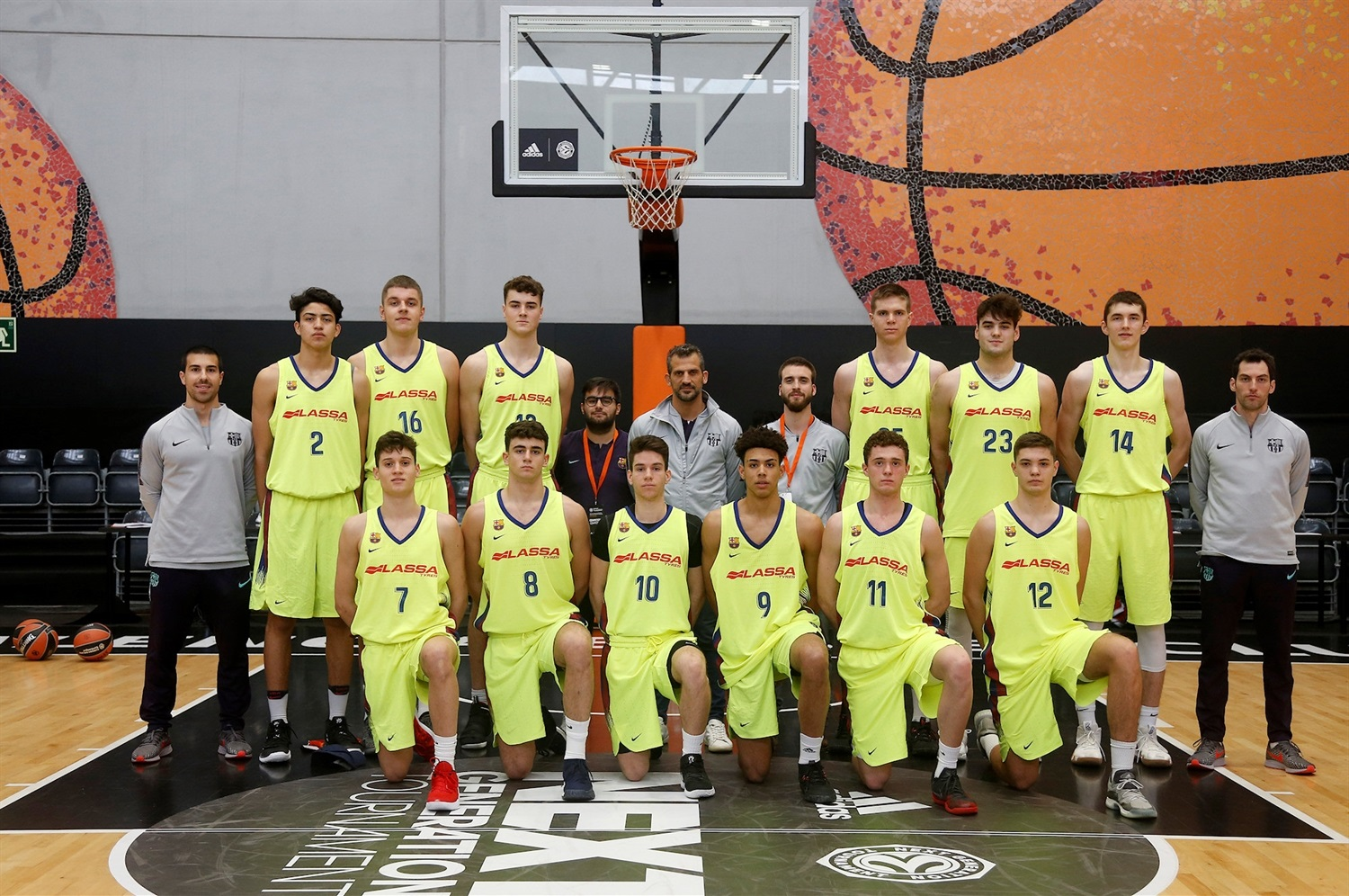 U18 FC Barcelona Lassa (photo Miguel Angel Polo - Valencia) - JT18