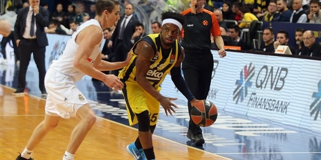 RS Round 15: Fenerbahce Beko Istanbul vs. Real Madrid