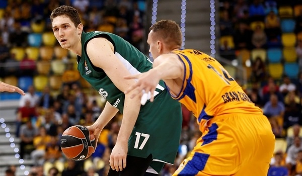 Zalgiris loses Birutis for rest of season