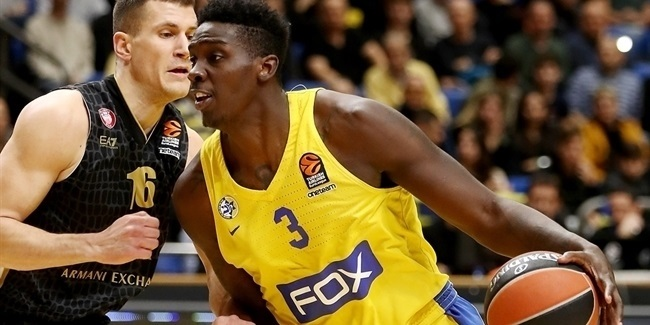 Lokomotiv brings in O'Bryant from Maccabi