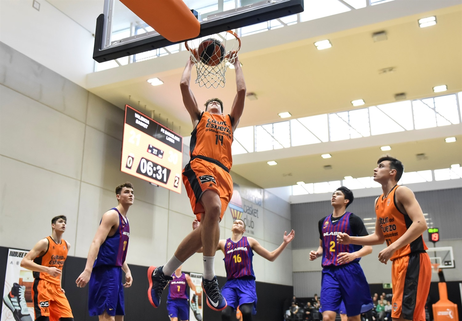 Alonso Faure - U18 Valencia Basket (photo Miguel Angel Polo - Valencia) - JT18