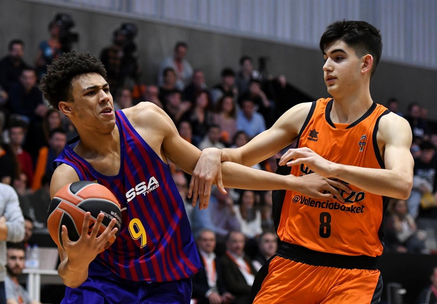 Tom Digbeu - U18 FC Barcelona Lassa (photo Miguel Angel Polo - Valencia) - JT18
