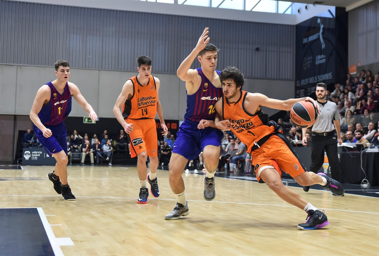 Alfonso Jose Ribera - U18 FC Barcelona Lassa (photo Miguel Angel Polo - Valencia) - JT18