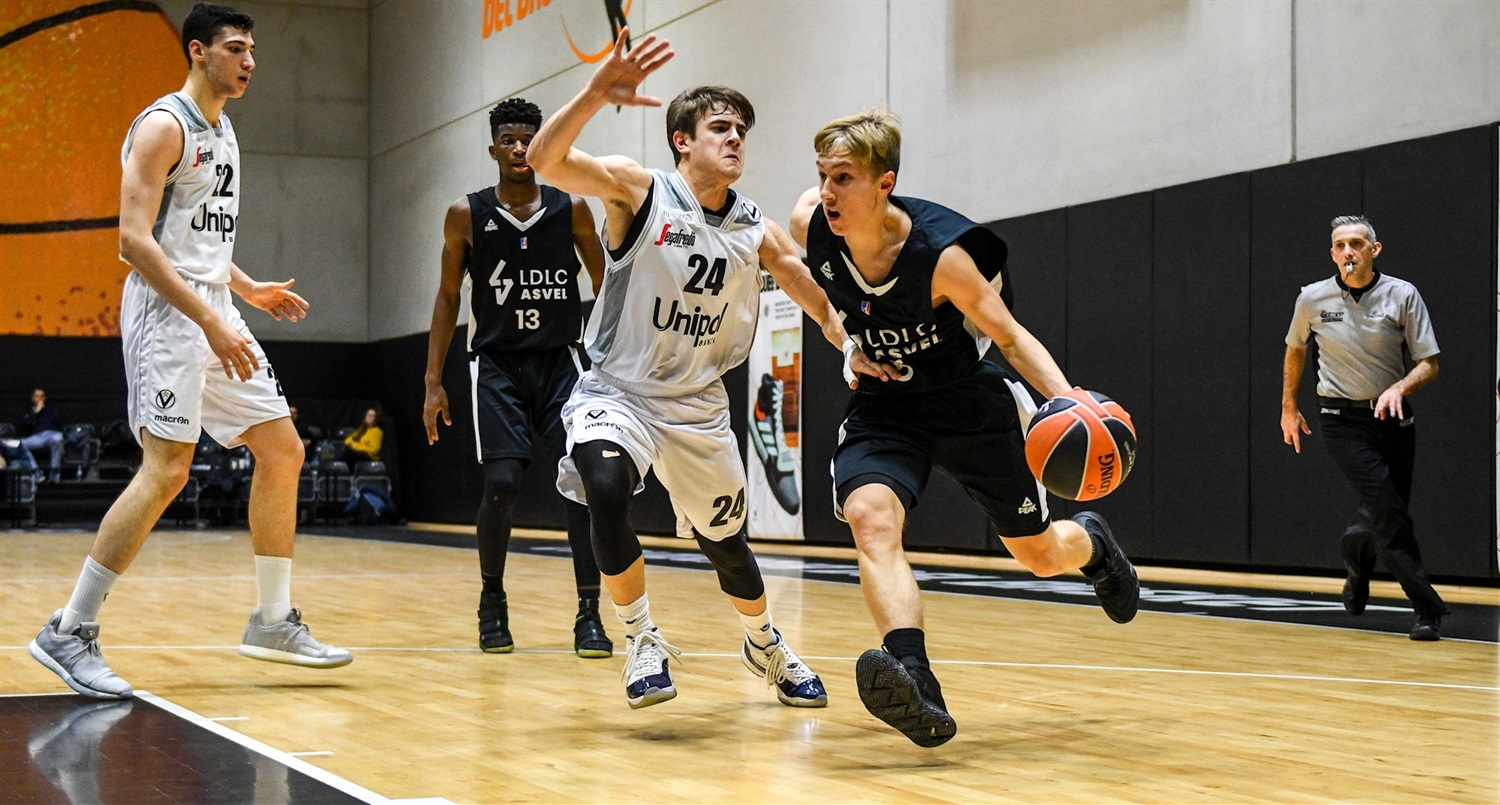 Hugo Desseignet - U18 LDLC ASVEL Villeurbanne (photo Miguel Angel Polo - Valencia) - JT18