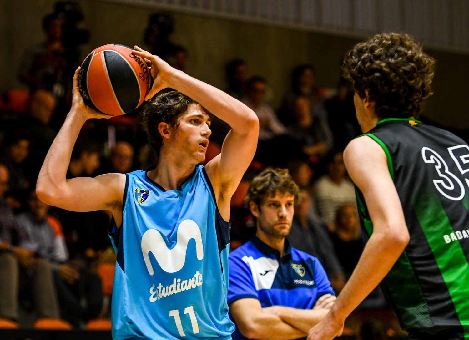 Hector Alderete - U18 Movistar Estudiantes Madrid (photo Miguel Angel Polo - Valencia) - JT18