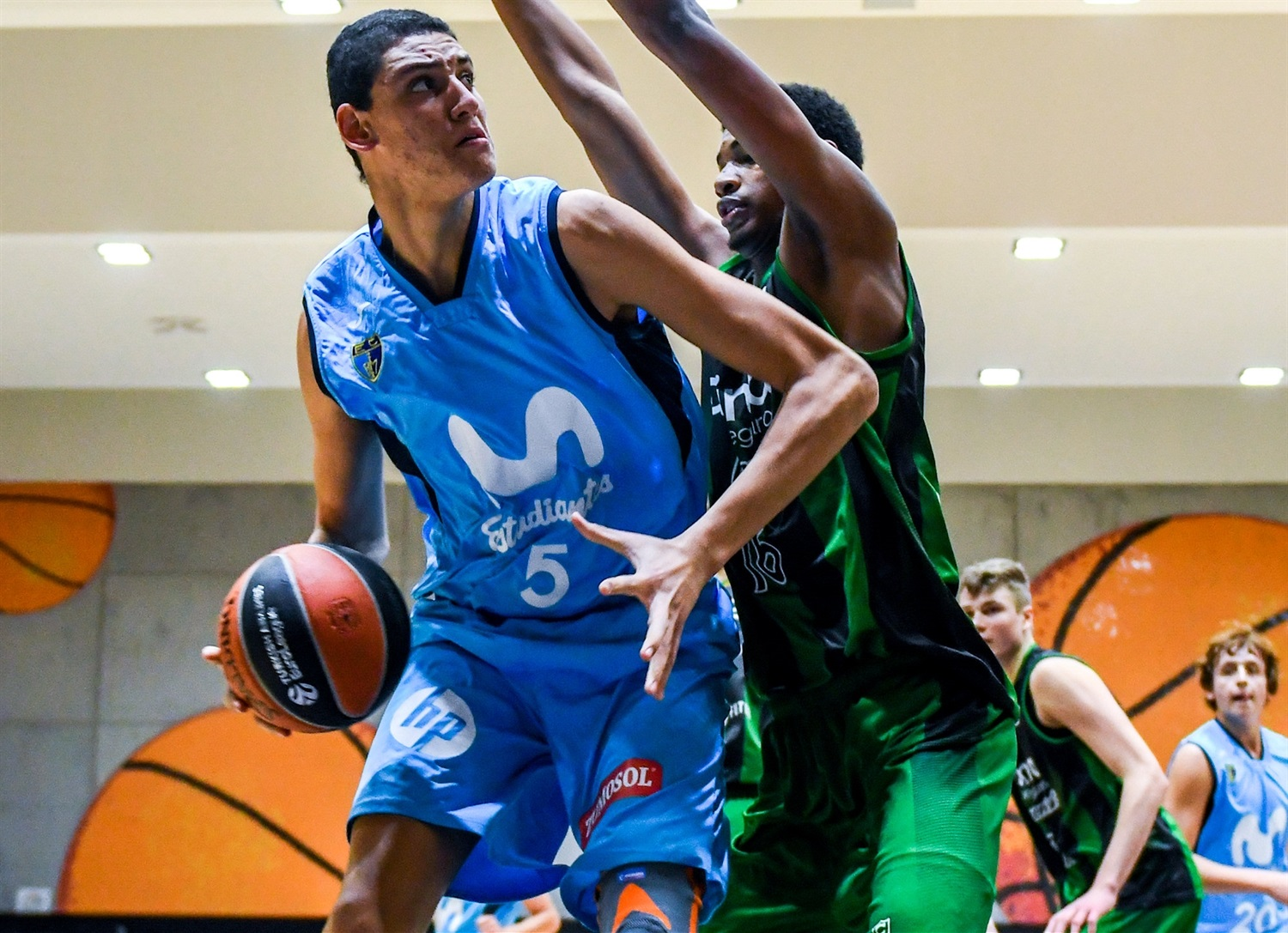 Gilad Levy - U18 Movistar Estudiantes Madrid (photo Miguel Angel Polo - Valencia) - JT18