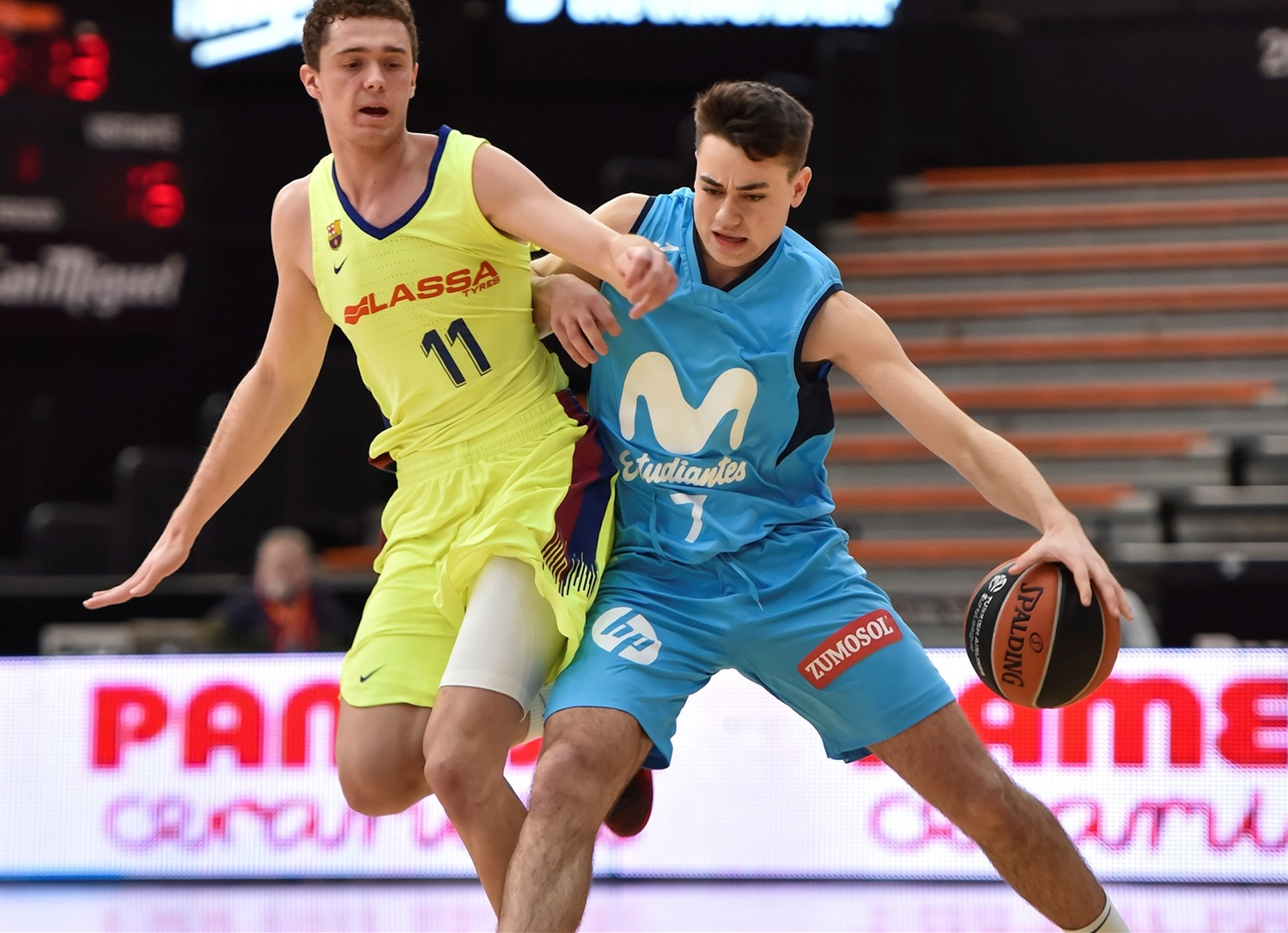 Eduardo Manzano - U18 Movistar Estudiantes Madrid (photo Miguel Angel Polo - Valencia) - JT18
