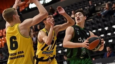 Joventut hangs on to beat Ludwigsburg for third place