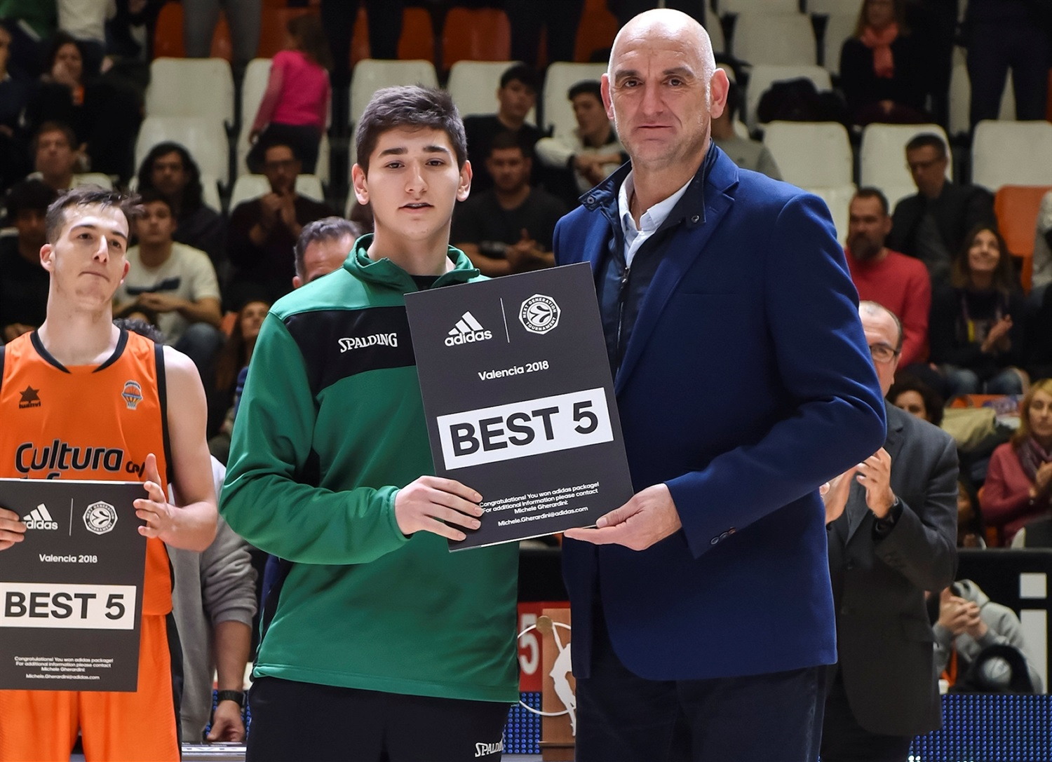 Aleix Haro, All-Tournament Team, ANGT Valencia (photo Miguel Angel Polo - Valencia) - JT18