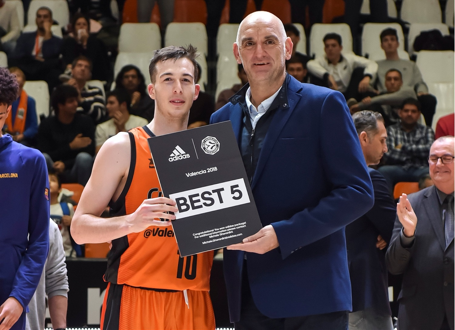Marc Garcia, All-Tournament Team, ANGT Valencia (photo Miguel Angel Polo - Valencia) - JT18